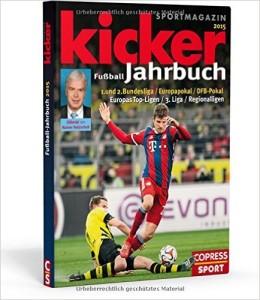 Fussball Buch Kicker Jahrbuch 2015