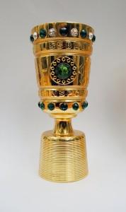 DFB Fussball Pokal Miniatur